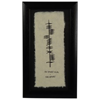Image for Ogham Wish Newport - An Port Nua