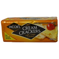 Image for Jacobs Cream Crackers 200g