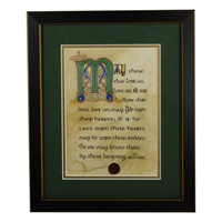 Image for Limping Green Matted Black Framed Print, 8 x 10""