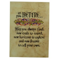 Image for Retirement Blessing Greeting Card