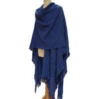 Image for Celtic Ruana, Damson Blue