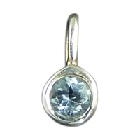 Image for Little Baby Feet Birthstone Charms