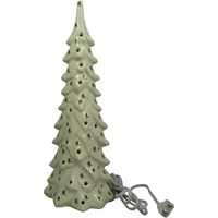 Image for Lighted Ceramic Christmas Tree with Thistle, Large