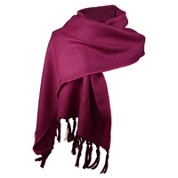 Image for Kerry 100% Lambswool Cyil/Cerise Scarf