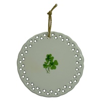 Image for Round Ceramic Irish Blessing Ornament