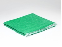 Image for Irish Linen Wrap, Peacock
