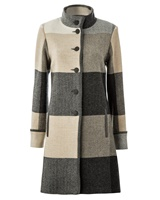 Image for Avoca Handweavers Lambswool Achill Coat, Rome