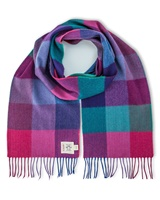 Avoca Handweavers Merino Scarf, Jewel Fields