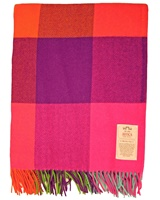 Image for Avoca Handweavers Silken Cashmere Blend Throw, Multicolor
