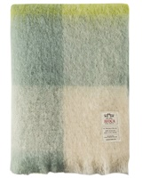 Image for Avoca Handweavers M192 Mohair Throw, Green