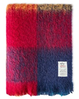Avoca Handweavers Harriet Mohair Throw, Multicolour