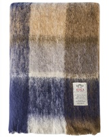 Image for M50 Land Mohair Throw, Brown