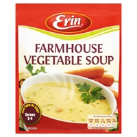 Image for Erin Farmhouse Vegetable Soup 75g