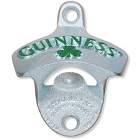 Image for Guinness Shamrock Wall Mount Bottle Opener