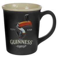 Image for Guinness Large Black Toucan Embossed Mug