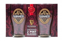 Image for Guinness Classic Collection Pint Glass - 2 Pack