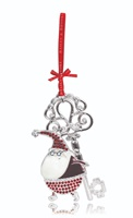 Image for Bailey and Brooke Sparkle Decoration - Santa with Magical Key
