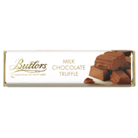 Image for Butlers Milk Chocolate with Creamy Truffle Centre Bar