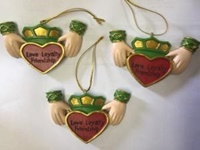 Image for Claddagh Ornament  Resin