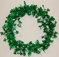 Image for Shamrock Garland Wreath