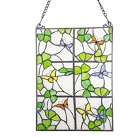 Image for Shamrocks Out My Window Stained Glass