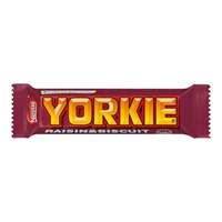 Image for Nestle Yorkie Raisin and Biscuit duo Bar 66g
