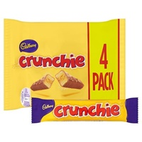 Image for Cadbury Crunchie Bars 4 Pack