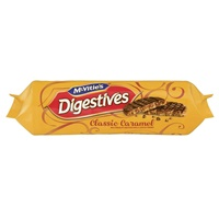Image for McVities Classic Caramel Digestive Biscuits 267g
