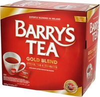 Image for Barrys Gold String and Tag 200 Teabags