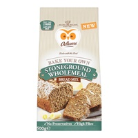 Image for Odlums Bread Mix Stoneground Wholemeal 500 g