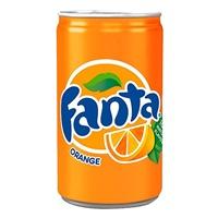 Image for Fanta Orange Flavoured Soft Drink Can 330 ml