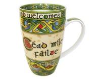 Image for Irish Weave Cead Mile Failte China Mug