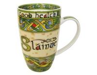 Image for Irish Weave Slainte China Mug