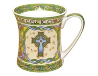 Image for Irish Weave High Cross China Mug