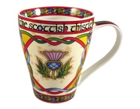 Image for Scottish Weave Scottish Thistle China Mug