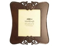 Image for 8 X 10 Hand-Carved Wooden Photo Frame