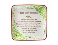 Image for Old Irish Blessing 12cm Square Dish