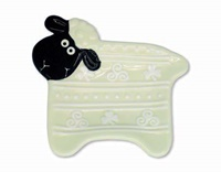 Image for Woolly Ware Sheep Teabag Holder
