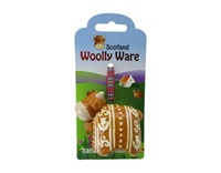 Image for Woolly Ware Highland Cow Hanging Ornament