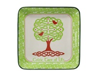 Image for Celtic Tree of Life 12cm Square Dish
