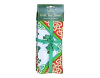 Image for Shamrock Diamonds Irish Tea Towel