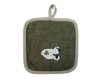 Image for Shamrock Sheep Pot Holder