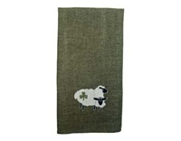 Image for Shamrock Sheep Tea Towel