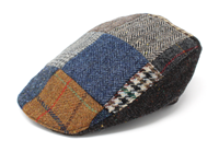 Image for Hanna Hats-Irish-Tweed Donegal Touring Patch Cap