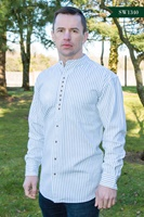 Image for Irish Civilian Heritage Grandfather Shirt - Trad Stripe