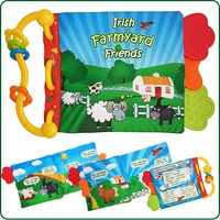Image for Irish Farmyard Fabric Childrens Crinkle Book Toy
