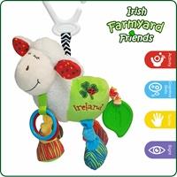 Image for Irish Sheep Babies Activity Toy