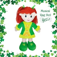Image for Cute Irish Musical Rag Doll