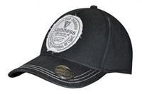 Image for Guinness Gaelic Label Opener Baseball Cap, Black