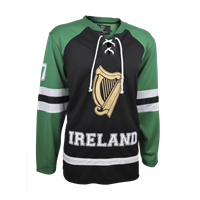 Image for Croker Hockey Jersey, Black and Green